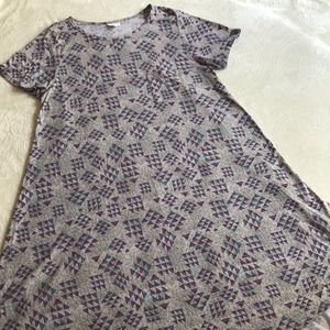 LuLaRoe Dresses - LulaRoe short sleeved comfy dress size 2XL